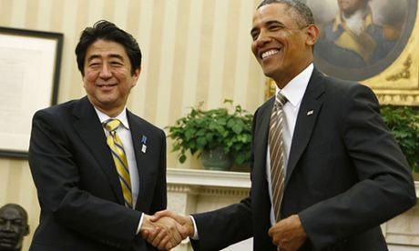 Obama gap mat, tran an thu tuong Nhat Ban - Anh 1
