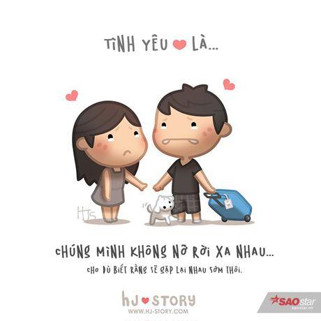 Tinh yeu that su ton tai trong moi hanh dong be be the nay thoi - Anh 10