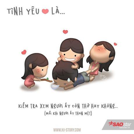 Tinh yeu that su ton tai trong moi hanh dong be be the nay thoi - Anh 4