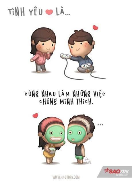 Tinh yeu that su ton tai trong moi hanh dong be be the nay thoi - Anh 6