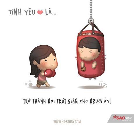 Tinh yeu that su ton tai trong moi hanh dong be be the nay thoi - Anh 8