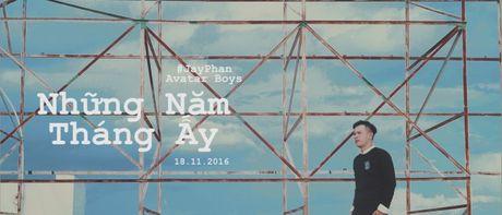 Mac chan thuong do tai nan, Huynh Anh bat chap nguy hiem hoan thanh MV moi - Anh 6