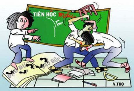 Hoc sinh to khoe ma hien lanh cung de la nan nhan cua 'Bao luc hoc duong' - Anh 1