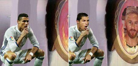 Anh che Ronaldo mung ban thang theo trao luu dung hinh - Anh 8