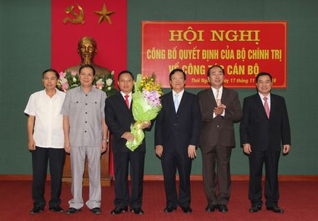 Cong bo quyet dinh nhan su 3 co quan - Anh 1