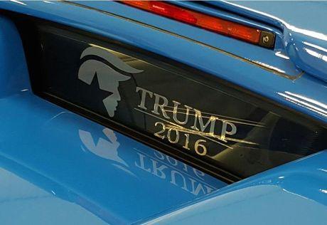 Lamborghini cu cua Donald Trump duoc rao ban tren eBay - Anh 3