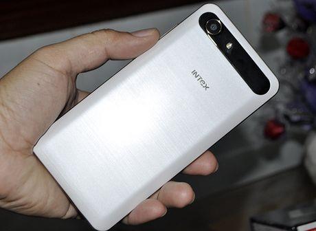 Intex Aqua View: Smartphone An Do gia re co cam bien van tay - Anh 5
