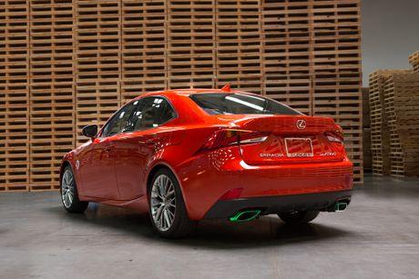 Lexus hop tac cong ty tuong ot san xuat mau xe dac biet - Anh 2