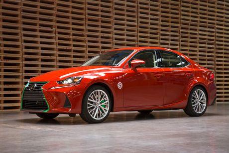 Lexus hop tac cong ty tuong ot san xuat mau xe dac biet - Anh 3