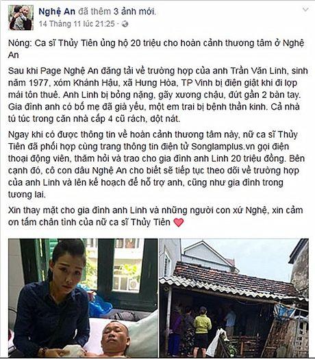 Thuy Tien duoc khen nuc no vi dan fan khong sat sinh - Anh 2