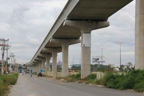 He lo tuyen Metro den Tan Son Nhat: 2 km di ngam - Anh 1
