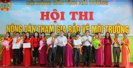 Hoi thi 'Nong dan tham gia bao ve moi truong' - Anh 1