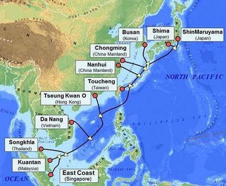 "Tuyen cap quang bien APG dung luong ""khung"" 54Tbps se di qua Viet Nam - Anh 1"