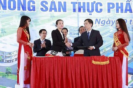 Khoi cong cho dau moi nong san thuc pham Dau Giay - Anh 1