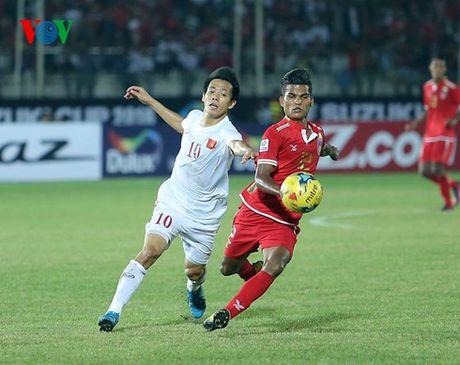 Du am Myanmar 1 – 2 DT Viet Nam: Van su khoi dau nan - Anh 1