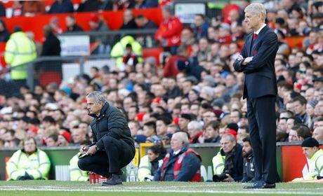 Chum anh: Mourinho thay doi cam xuc chong mat o tran hoa Arsenal - Anh 4