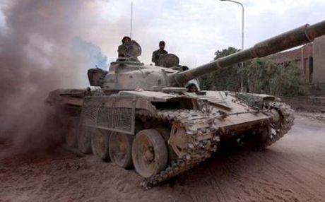 Khong quan Syria doi bom nung nong noi hoi Aleppo - Anh 1