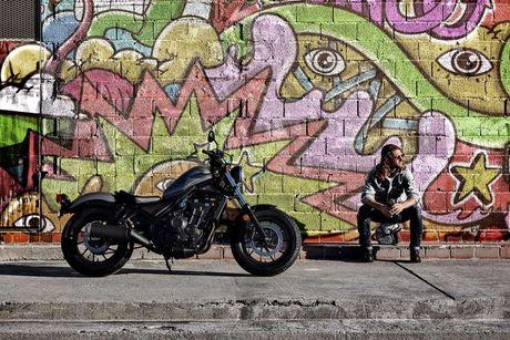 Honda Rebel 2017 - Tay dua than thien - Anh 6