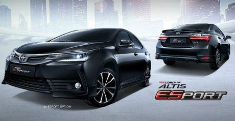 2017 Toyota Corolla Altis ESport gia 597 trieu dong len ke - Anh 1