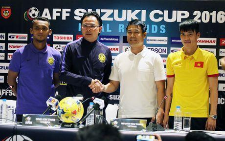 HLV Huu Thang muon danh bai Malaysia de gianh ve vao ban ket som - Anh 1