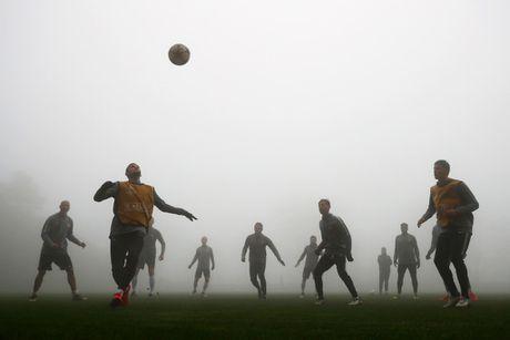 Dan sao Monaco tap trong suong trang xoa, quyet tam danh bai Tottenham - Anh 1