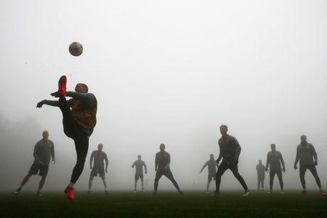 Dan sao Monaco tap trong suong trang xoa, quyet tam danh bai Tottenham - Anh 2