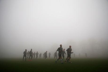 Dan sao Monaco tap trong suong trang xoa, quyet tam danh bai Tottenham - Anh 5