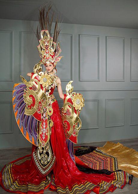 Kha Trang khoe ve rang ro tai HH Sieu quoc gia 2016 - Anh 12