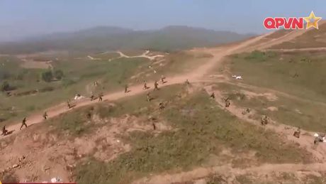 Muc kich hai su doan bo binh Viet Nam dien tap - Anh 1