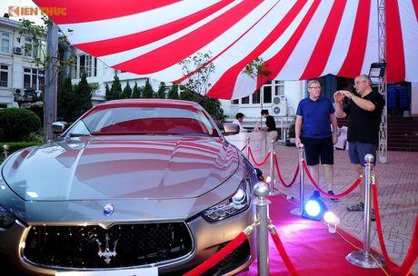 Xe sang Maserati Ghibli chinh hang dau tien tai Ha Noi - Anh 1