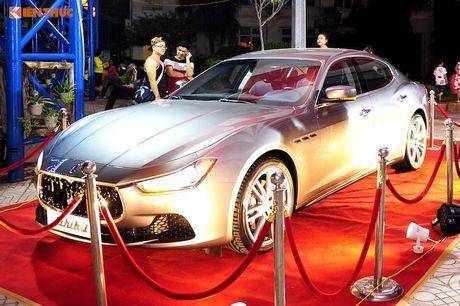 Xe sang Maserati Ghibli chinh hang dau tien tai Ha Noi - Anh 2