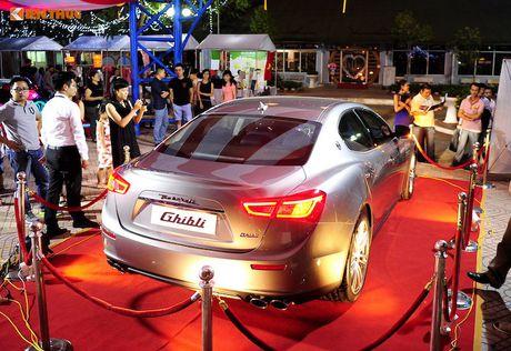 Xe sang Maserati Ghibli chinh hang dau tien tai Ha Noi - Anh 3