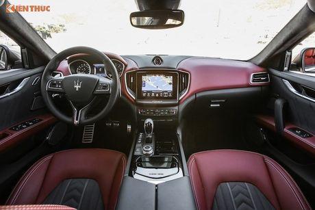 Xe sang Maserati Ghibli chinh hang dau tien tai Ha Noi - Anh 4