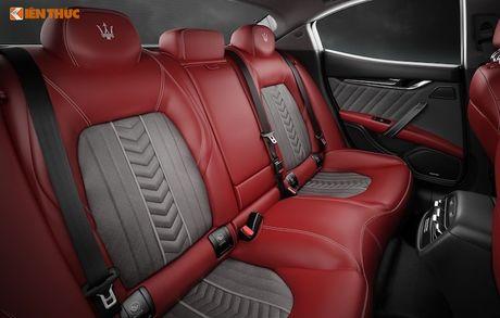 Xe sang Maserati Ghibli chinh hang dau tien tai Ha Noi - Anh 6