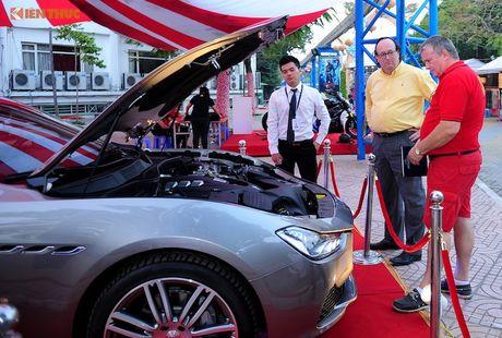 Xe sang Maserati Ghibli chinh hang dau tien tai Ha Noi - Anh 7