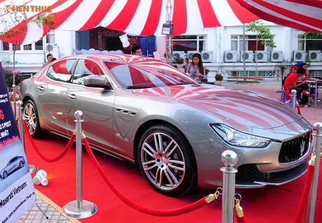 Xe sang Maserati Ghibli chinh hang dau tien tai Ha Noi - Anh 8