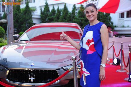 Xe sang Maserati Ghibli chinh hang dau tien tai Ha Noi - Anh 9