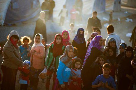 Chum anh khung hoang nhan dao o thanh pho Mosul - Anh 3