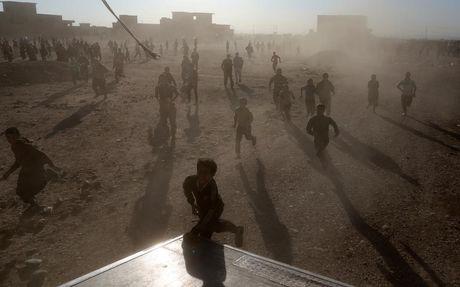 Chum anh khung hoang nhan dao o thanh pho Mosul - Anh 7