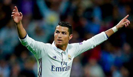 Sporting Lisbon – Real Madrid (vong bang UEFA Champions League):Trong cho vao Cristiano Ronaldo - Anh 1