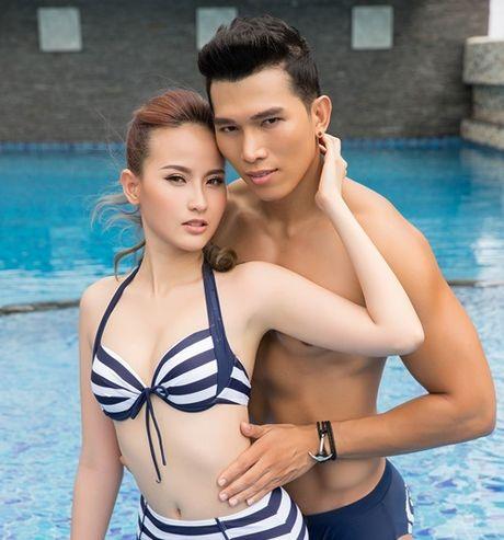 Hoc tro Pham Huong khoe duong cong nong bong ben trai dep - Anh 5