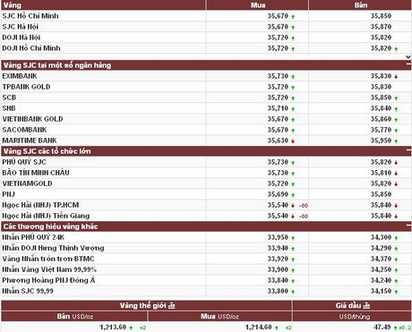 Vang len nguong 1.215 USD sau 3 phien lao doc lien tuc - Anh 2