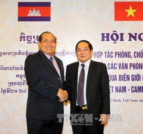 Viet Nam - Campuchia phoi hop phong chong ma tuy - Anh 1