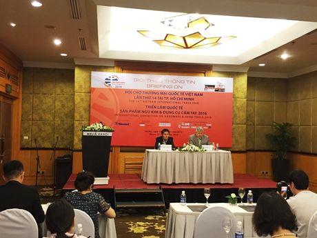 Vietnam Expo 2016 thu hut hon 500 doanh nghiep tham gia - Anh 1