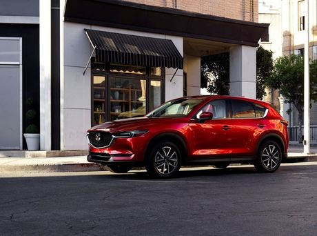 Mazda CX-5 phien ban 2017 vua ra mat tai My co gi dac biet? - Anh 4
