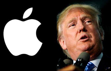 Duoi thoi Donald Trump, Apple se phai san xuat iPhone tai My? - Anh 1