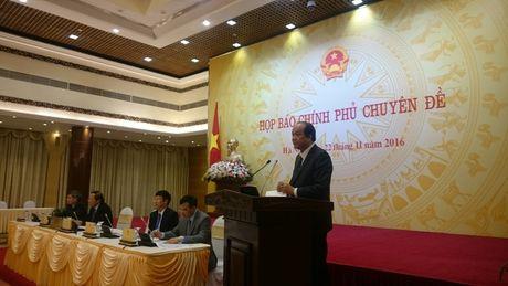Bo truong Mai Tien Dung tra loi ve dung DA dien hat nhan - Anh 1