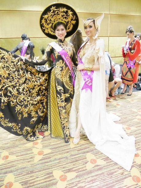Emily Hong Nhung lot top 9 Hoa hau Du lich Quoc te 2016 - Anh 5