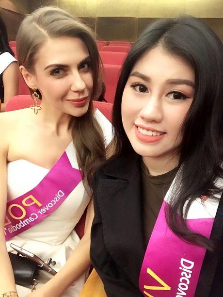 Emily Hong Nhung lot top 9 Hoa hau Du lich Quoc te 2016 - Anh 7