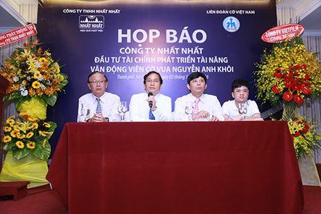 Nhat Nhat dau tu cho than dong Anh Khoi, muon lam rang danh tri tue Viet - Anh 1